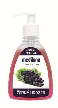 Tekuté mýdlo Medilona - černý hrozen, 300 ml