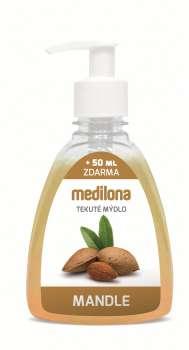 Tekuté mýdlo Medilona - mandlové, 300 ml