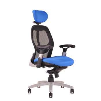 Kancelářská židle Saturn synchro - modrá
