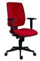 Kancelářská židle Rahat, SY - synchro, červená