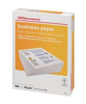 Kancelářský papír Office Depot Business A4 - 80 g/m2, 500 listů