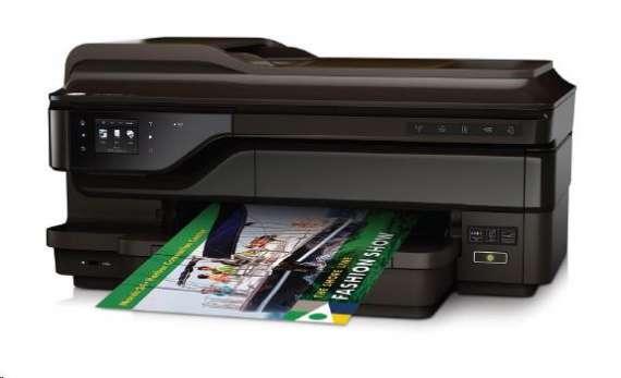 Multifunkce inkoustová HP All-in-One Officejet 7612A Wide