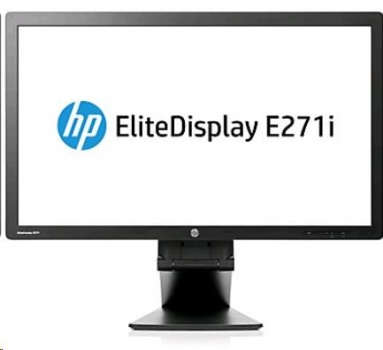 "27"" monitor HP EliteDisplay LED LCD E271i wide"