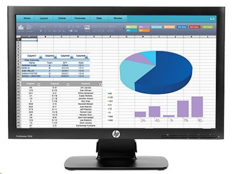 "23"" monitor HP LCD ProDisplay P232 LED wide"