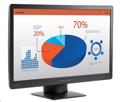 "24"" monitor HP LCD ProDisplay P242va LED wide"