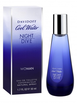 Dárek: Davidoff Cool Water Night Dive EDT 50 ml ZDARMA