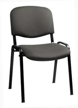 Konferenční židle Taurus šedá, kostra černá