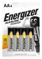 Alkalické baterie Energizer Power - 1,5 V, typ AA, 4 ks