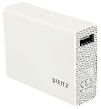 Přenosná USB nabíječka Leitz kompletní 6 000 mAh
