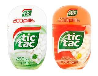 Dárek: Tic Tac Orange + Tic Tac Mint ZDARMA