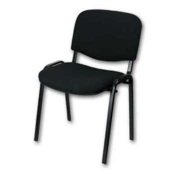 Konferenční židle Taurus černá, kostra černá
