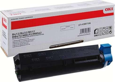 Toner OKI 45807106 - černá