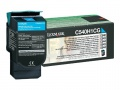 Toner Lexmark C540H1CG - azurový