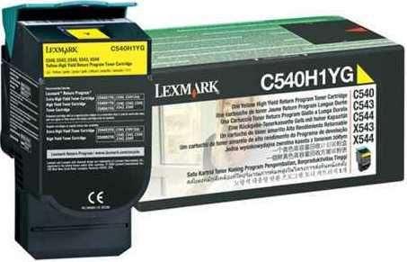Toner Lexmark C540H1YG - žlutý