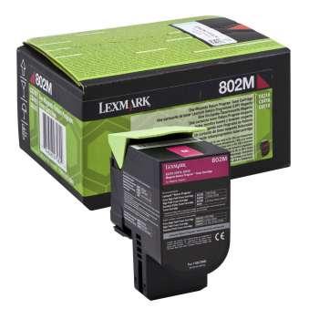 Toner Lexmark 80C20M0 - purpurový