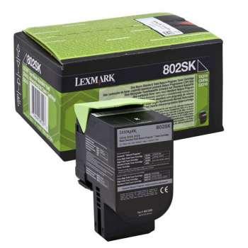 Toner Lexmark 80C2SK0 - černá
