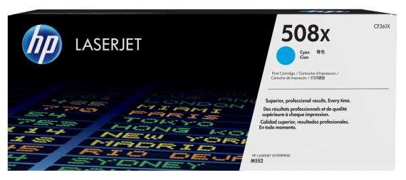 Toner HP CF361X/508X - azurový