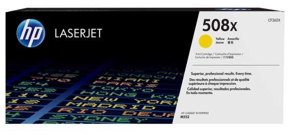 Toner HP CF362X/508X - žlutý