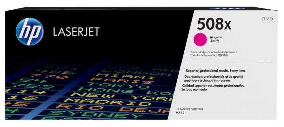 Toner HP CF363X, purpurová