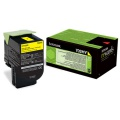Toner Lexmark 70C2HY0 - žlutá