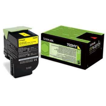 Toner Lexmark 70C2HY0 - žlutý