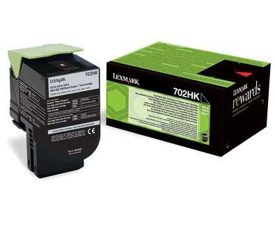 Toner Lexmark 70C2HK0 - černá