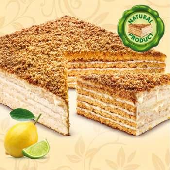 DÁREK: Citronový medový dort Marlenka ZDARMA