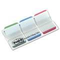Záložky Post-it supersilné, zelené/modré/červené