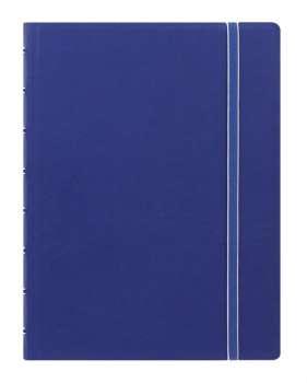 Zápisník Filofax Notebook - A5, linkovaný, modrý