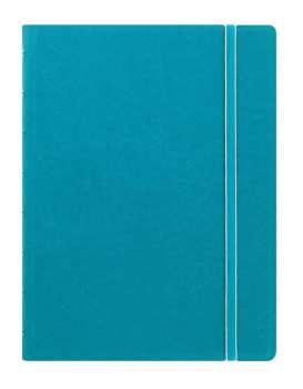Zápisník Filofax Notebook - A5, linkovaný, tyrkysový