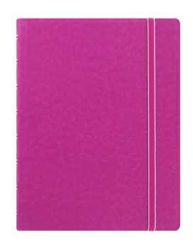 Zápisník Filofax Notebook - A5, linkovaný, fuchsiový