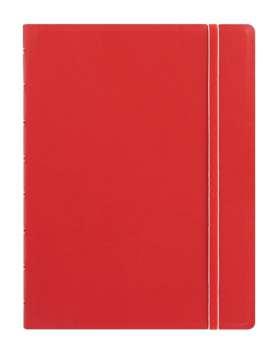Zápisník Filofax Notebook - A5, linkovaný, červený