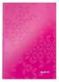 Zápisník Leitz WOW A5, linkovaný, růžová