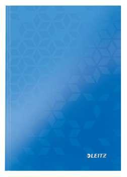 Zápisník Leitz WOW - A5, linkovaný, modrý