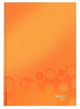 Zápisník Leitz WOW - A5, linkovaný, oranžový