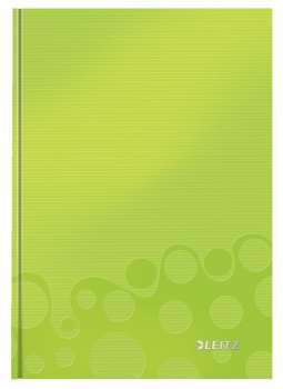 Zápisník Leitz WOW - A5, linkovaný, zelený