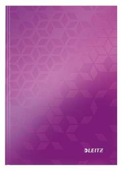 Zápisník Leitz WOW - A5, linkovaný, purpurový