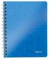 Blok Leitz WOW - A5, PP, linkovaný, modrý