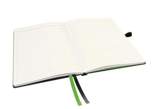 Zápisník Leitz Complete - A5, linka, černý
