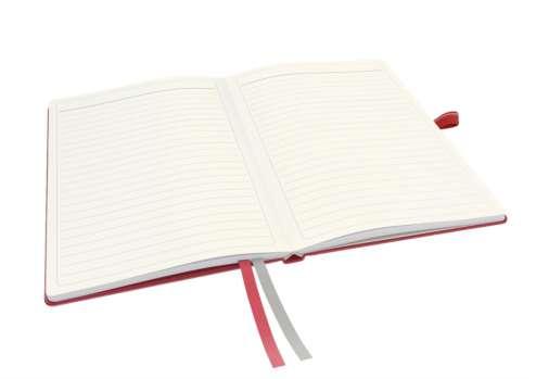 Zápisník Leitz Complete - A5, linka, červený