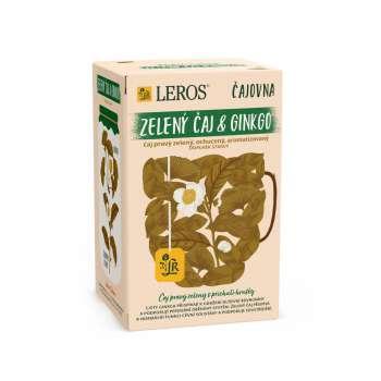 Čaj Leros Vital ginkgo a zelený čaj - 20 x 2 g