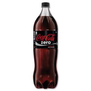 Coca Cola Zero - nevratné lahve, 6 x 2 l