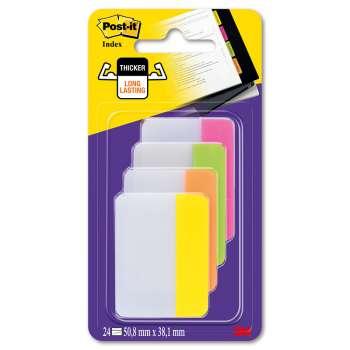 Záložky do pořadačů Post-it - pastelové, mix barev