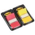 Samolepicí záložky Post-it - dvojbalení, žlutá/červená