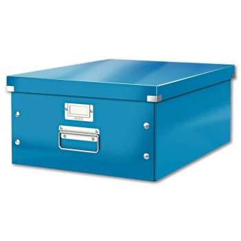 Box CLICK-N-STORE A3, WOW - modrý