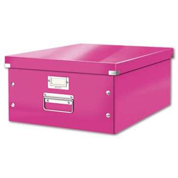 Box CLICK-N-STORE A3, WOW - růžový