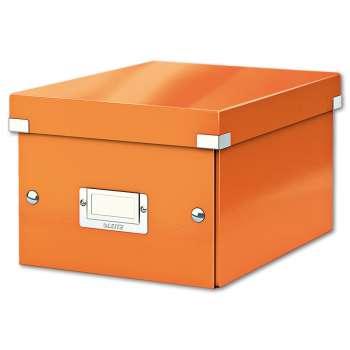Box CLICK-N-STORE WOW - A5, oranžová