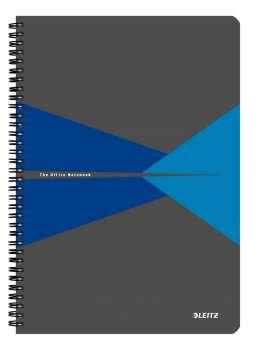 Blok Leitz Office - A4, linkovaný, modrý