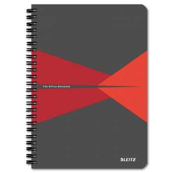 Blok Leitz Office - A5, linkovaný, červený