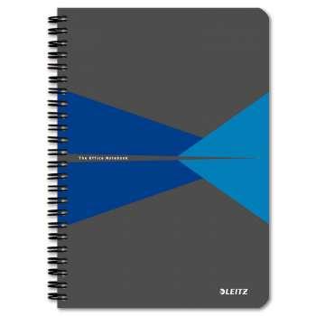 Blok Leitz Office - A5, linkovaný, modrý